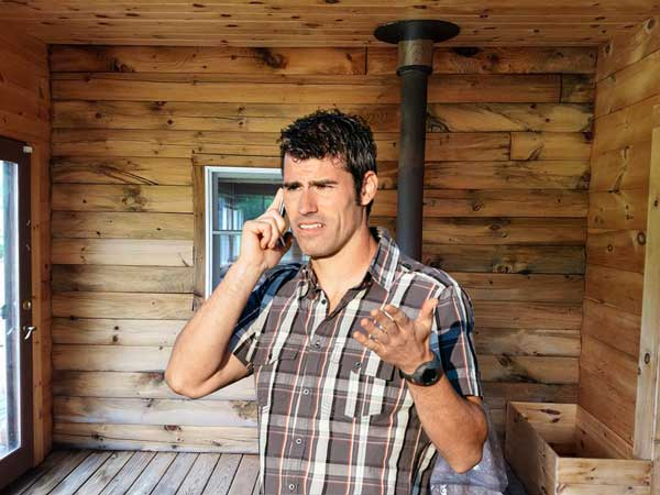 Call Log Home Restoration for repair and maintenance of your log home.