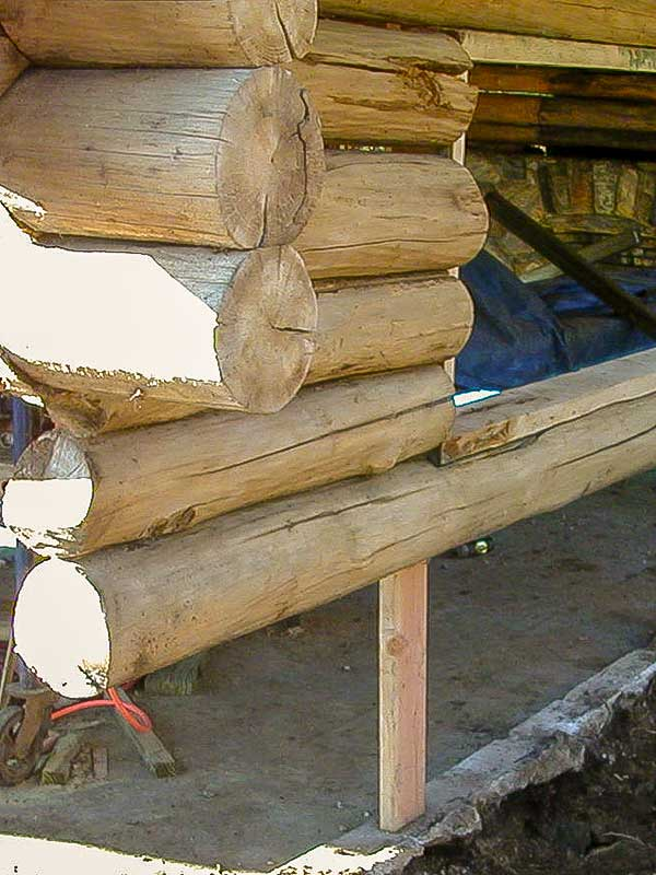 log home replacement