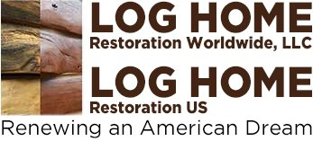 Log Home Restoration U.S. Logo